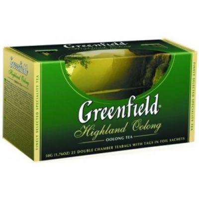 Чай Greenfield Highland Oolong (в пакетиках, 25х2г, улун) 0626-15