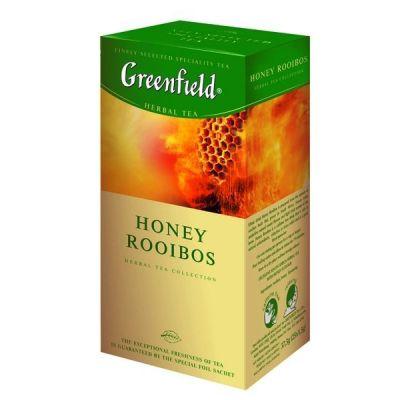 Чай Greenfield Honey Rooibos (в пакетиках, 25х1,5г, травяной) 0430-10