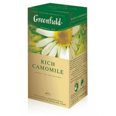��� Greenfield Rich Camomile (� ���������, 25�1,5�, ��������) 0432-10