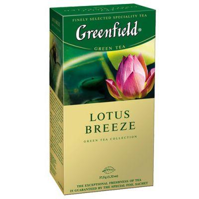 Чай Greenfield Lotus Breeze (в пакетиках, 25х1,5г, травяной) 0470-10