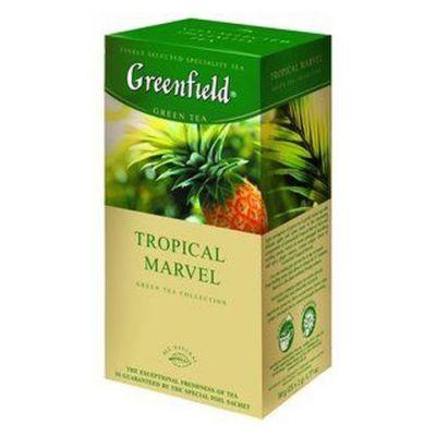 Чай Greenfield Tropical Marvel (в пакетиках, 25х2г, травяной) 0654-10