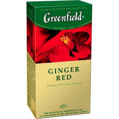 Чай Greenfield Ginger Red (в пакетиках, 25х2г, травяной) 0469-10
