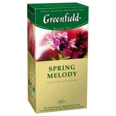Чай Greenfield Spring Melody (в пакетиках, 25х1,5г, травяной) 0525-10