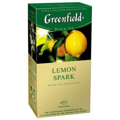 Чай Greenfield Lemon Spark (в пакетиках, 25х1,5г, травяной) 0711-10