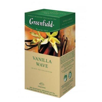 Чай Greenfield Vanilla Wave (в пакетиках, 25х1,5г, травяной) 0712-10