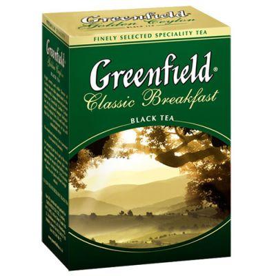 Чай Greenfield Классик Брекфаст 100г. чай лист.черн. 0353-16