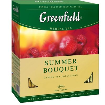 Чай Greenfield Summer Bouquet (в пакетиках, 100х2г, травяной) 0878-09