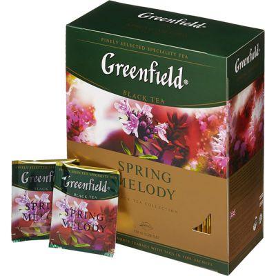 Чай Greenfield Spring Melody (в пакетиках, 100х1,5г, травяной) 1065-09