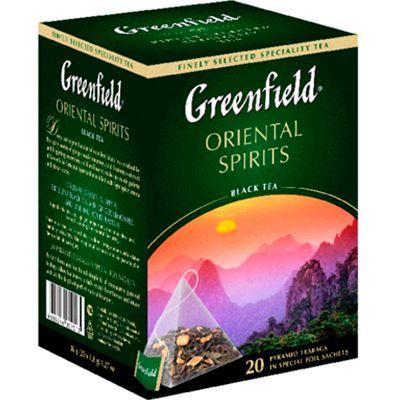 Чай Greenfield Oriental Spirits (в пирамидках, 20х1,8г, черный) 0901-08