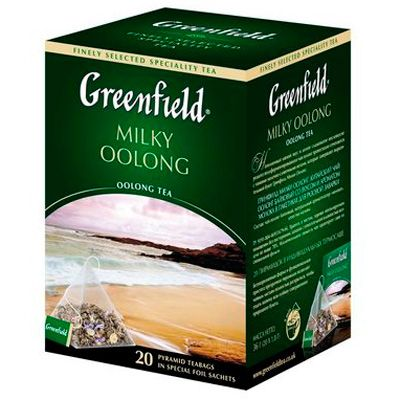 ��� Greenfield Milky Oolong (� ����������, 20�1,8�, ����) 0905-08