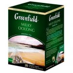 Чай Greenfield Milky Oolong (в пирамидках, 20х1,8г, улун) 0905-08
