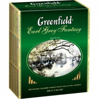 ��� Greenfield Earl Grey Fantasy (� ���������, 100�2�, ������) 0834-10