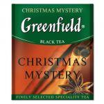 Чай Greenfield Christmas Mystery (в пакетиках, 100х1,5г, травяной) 0844-10