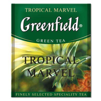 Чай Greenfield Tropical Marvel (в пакетиках, 100х2г, травяной) 0842-10