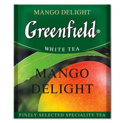 Чай Greenfield Mango Delight (в пакетиках, 100х1,8г, травяной) 0843-10