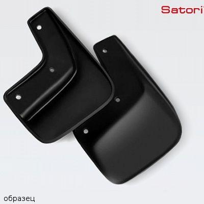 Брызговики Satori специальные Subaru Outback 2010-> передние (комплект 2 шт.) SI 04-00023