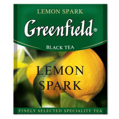 Чай Greenfield Lemon Spark (в пакетиках, 100х1,5г, травяной) 0841-10