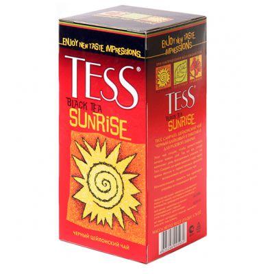 Чай TESS Sunrise (в пакетиках, 25х1,8г, черный) 0937-10