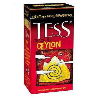 Чай TESS Ceylon (в пакетиках, 25х2г, черный) 0633-10