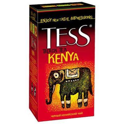 Чай TESS Kenya (в пакетиках, 25х2г, черный) 0634-10