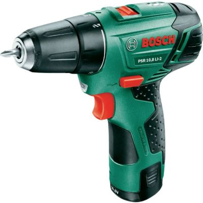 Дрель Bosch аккумуляторная (шуруповерт) PSR 10.8 Li-2 0603972926