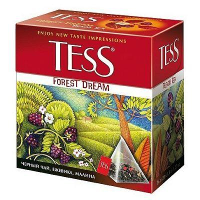 Чай TESS Forest Dream (в пирамидках, 20х1,8г, черный) 0784-12