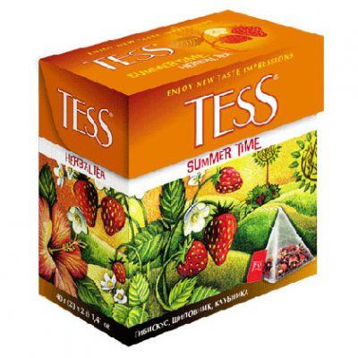 Чай TESS Summer Time (в пирамидках, 20х2г, травяной) 0789-12