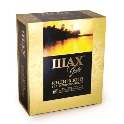 Чай ШАХ Gold (в пакетиках, 100х2г, черный) 0925-18