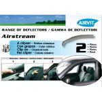Дефлекторы AIRVIT на боковые окна SUPER BMW 3** E46 4D 1998-> /E46 5D 1999-> 2 части передние (цвет светло-серый) ARV01-00080