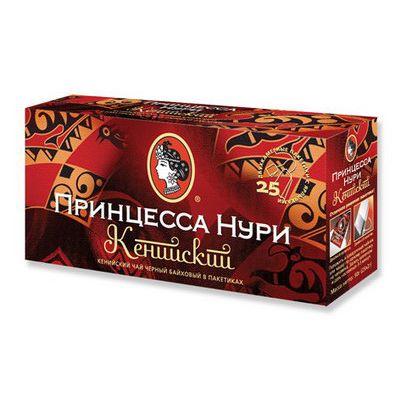 Чай Принцесса Нури Кенийский (в пакетиках, 25х2г, черный) 0482-72