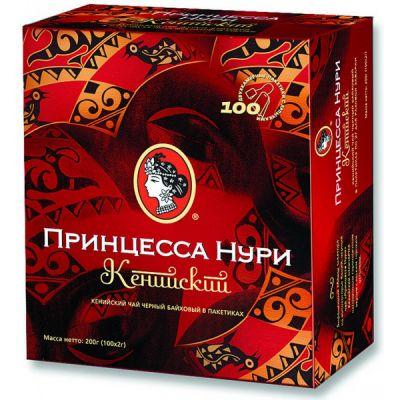 Чай Принцесса Нури Кенийский (в пакетиках, 100х2г, черный) 0483-18