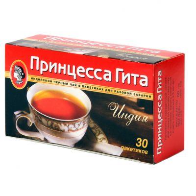 Чай Принцесса Гита Индия (в пакетиках, 30х2г, черный) 0311-80