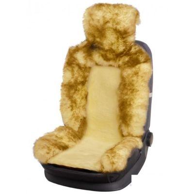 Чехол на сиденья автомобиля Various Accessories меховая накидка (передний ряд, 1 шт) Jolly Premium 140*50 IP 05-123034