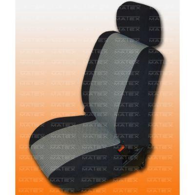 Чехол на сиденья автомобиля Matex универсальный, материал Велюр, размер 1+1 ACC05-00078