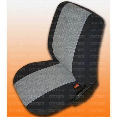 Чехол на сиденья автомобиля Matex универсальный, материал Жаккард, размер B-4 ACC05-00077