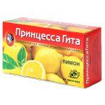 Чай Принцесса Гита Лимон (в пакетиках, 24х1,5г, черный) 0660-36
