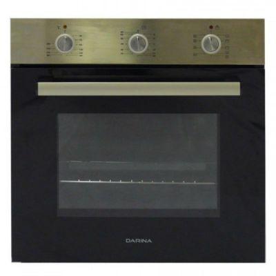 Встраиваемая электрическая духовка Darina 1U5 BDE111 705 X серебристый