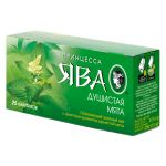 Чай Принцесса Ява Душистая Мята (в пакетиках, 25х1,5г, зеленый) 0439-72