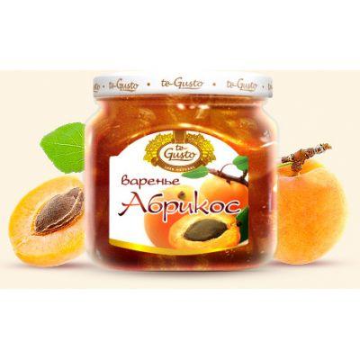 Варенье te Gusto из абрикоса (430 гр.)