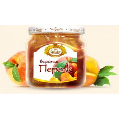 Варенье te Gusto из персика (430 гр.)