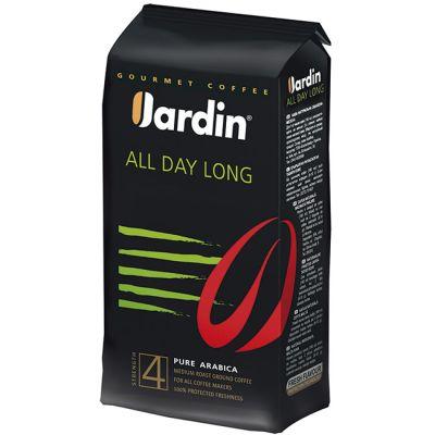 Кофе Jardin All Day Long (250г, молотый, жареный, премиум сорт) 0556-26