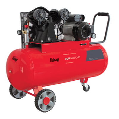 Компрессор Fubag VCF/100 CM3, 2.2 кВт 100 л 440 л/мин 10 бар 71 кг масляный 45681472