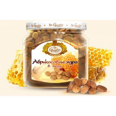 te Gusto абрикосовые ядра в меду (470 гр.)