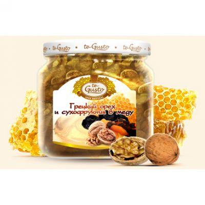 te Gusto грецкий орех и сухофрукты в меду (300 гр.)