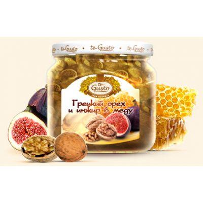 te Gusto грецкий орех и инжир в меду (470 гр.)