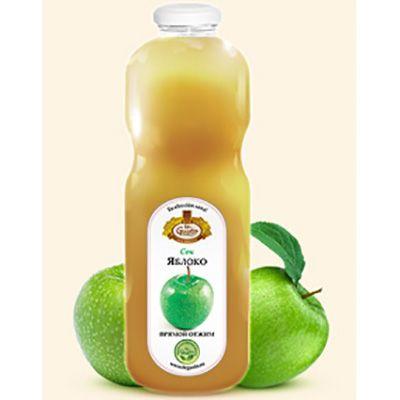 te Gusto яблочный сок прямого отжима (0,85 л.)