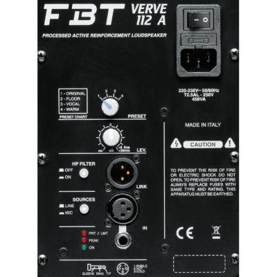 Акустическая система FBT Verve 112A (активная)