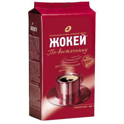 Кофе Жокей По-восточному (100г, молотый, жареный, высший сорт) 0269-42