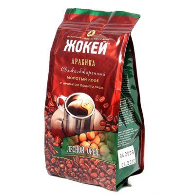 Кофе Жокей Лесной орех (150г, молотый, жареный, ароматизированный) 0510-20