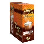 Кофе Жокей Latte Art (в пакетиках, 10х18г, кофейный напиток со вкусом молока) 0951-20